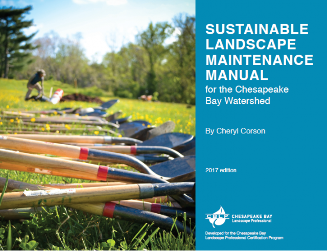 Sustainable Landscape Maintenance Manual – Full Color